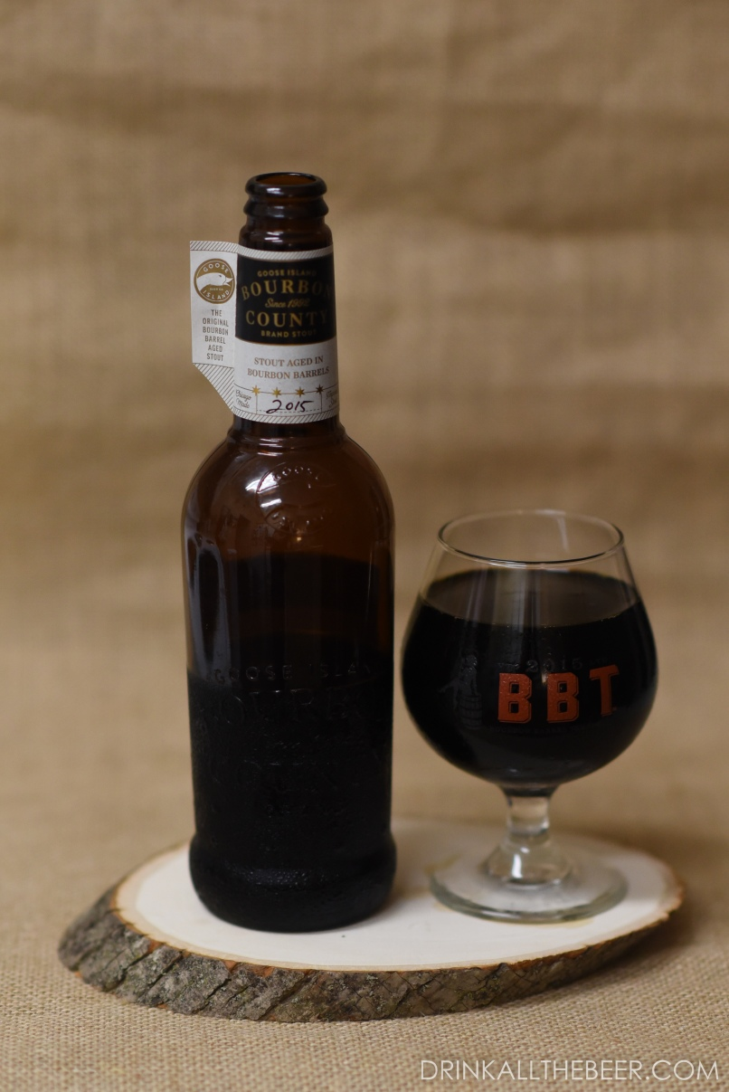 Goose Island - Bourbon Co Brand Stout 2015-1