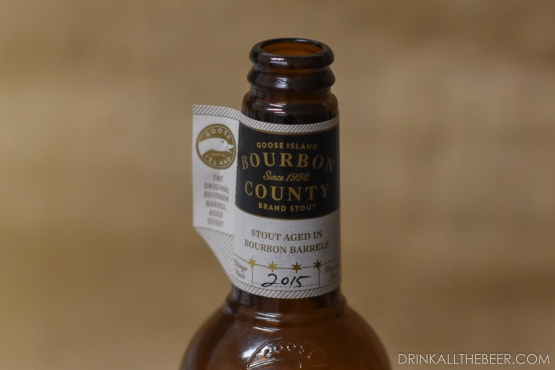 Goose Island - Bourbon Co Brand Stout 2015-2